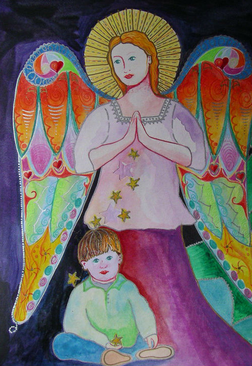 Give Him Hope, painting by Elizabeth Willmott-Harrop
